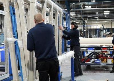 Manufacturing window columns