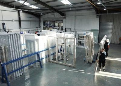 Window columns in the warehouse
