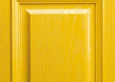Apeer Composite Doors Traffic Yellow
