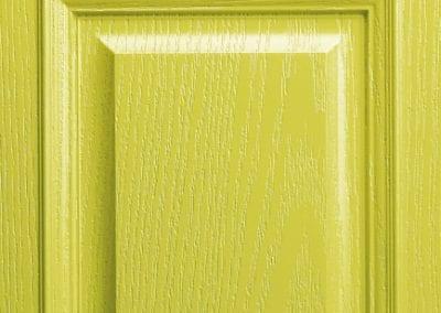 Apeer Composite Doors Pale Lime