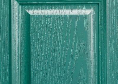 Apeer Composite Doors Turquoise Blue