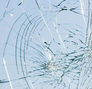 broken glass repairs