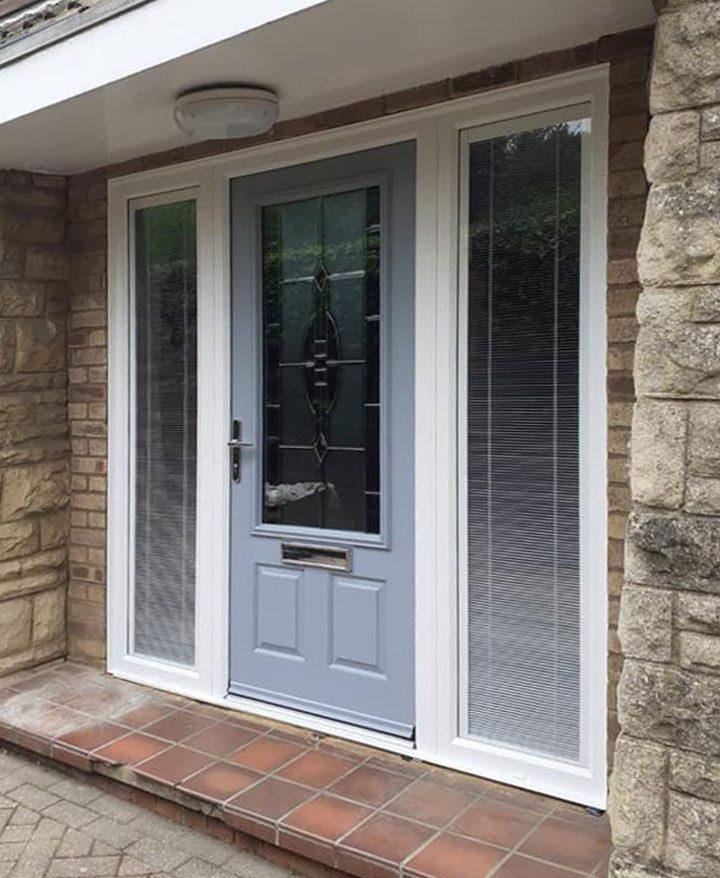 Gorgeous Hazy Grey Composite Doors