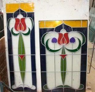 glass glazing decorative sq