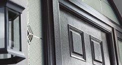 Main black APA front door